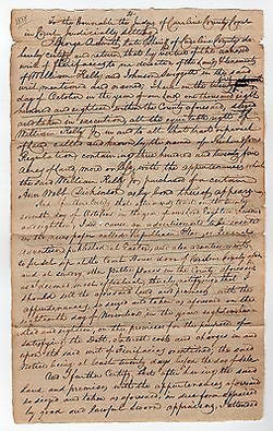 GEORGE SMITH MARYLAND SHERIFF REV WAR ANTIQUE AUTOGRAPH SIGNED LEGAL LETTER 1818 - K-townConsignments