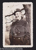 SHIRLEY VAN BRACKLE WWII WAC MILITARY WOMAN IN UNIFORM VINTAGE SNAPSHOT PHOTO - K-townConsignments