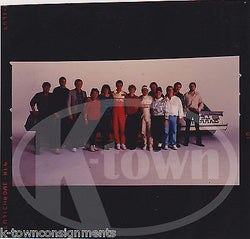 NASCAR RACING DRIVERS ADVERTISING CREW ORIGINAL TIDE FOGERS AD PHOTO NEGATIVE - K-townConsignments