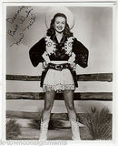 NOEL NEILL LOIS LANE COWGIRL MOVIE ACTRESS VINTAGE AUTOGRAPH SIGNED PHOTO - K-townConsignments