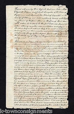 GILBERT LIVINGSTON JOHN MOTT ZEPHANIAH PLATT NY REVOLUTIONARY WAR AUTOGRAPHS - K-townConsignments
