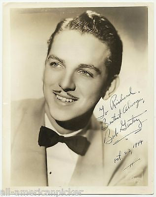 BOB GENTRY HOLLYWOOD MOVIE ACTOR AUTOGRAPH SIGNED BRUNO OF HOLLYWOOD PHOTO - K-townConsignments