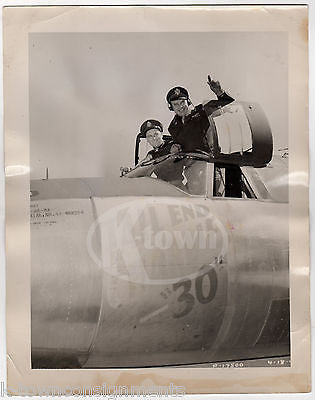 TAIL END CHARLIE WWII PLANE PILOTS & CREW SIGNED NOSE ART VINTAGE FILE PHOTO - K-townConsignments