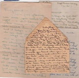 BILLY SULLIVAN JR WHITE SOX 1930s MLB BASEBALL LIFE LOVE LETTERS LARGE ARCHIVE - K-townConsignments