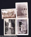 WWII GIRLS AT PLAY AND WAR BRIDE GROUP WEDDING VINTAGE HOMEFRONT SNAPSHOT PHOTOS - K-townConsignments