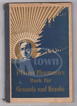 FATHER LUDWIG HEUMANN GERMAN PRIEST PHARMACEUTICAL MEDICINE ADVERTISING CATALOG - K-townConsignments