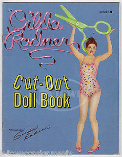 GILDA RADNER SATURDAY NIGHT LIVE COMEDIAN VINTAGE UNUSED CUT-OUT DOLL BOOK 1979 - K-townConsignments