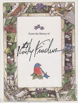KINKY FRIEDMAN COUNTRY WESTERN SINGER & POET AUTOGRAPH SIGNED BOOK PLATE - K-townConsignments