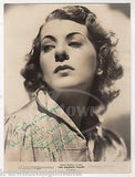 VIRGINIA VERRILL GOLDWYN FOLLIES MOVIE ACTRESS VINTAGE AUTOGRAPH SIGNED PHOTO - K-townConsignments