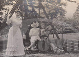 TSANG OF DOWNSHIRE CHAMPION SHOW DOG & TROPHIES ANTIQUE SNAPSHOT PHOTOGRAPHS - K-townConsignments