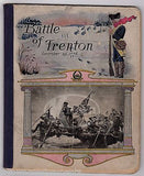 GEORGE WASHINGTON BATTLE OF TRENTON ANTIQUE GRAPHIC ART COVER SCHOOL NOTEBOOK - K-townConsignments