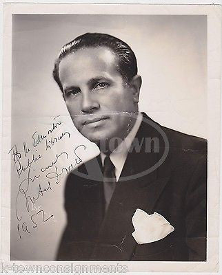 ANTAL DORATI MINNEAPOLIS SYMPHONY ORCHESTRA AUTOGRAPH SIGNED MUSIC PHOTO 1952 - K-townConsignments