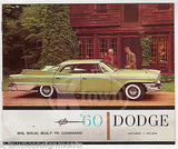 DODGE MATADOR & POLARA CARS VINTAGE GRAPHIC ADVERTISING DEALERS SALES CATALOG - K-townConsignments