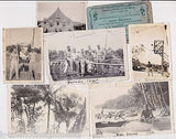 WWII 871st AIRBORNE SERVICEMEN ORIGINAL IDed PHILIPPINES SNAPSHOT PHOTOS LOT - K-townConsignments