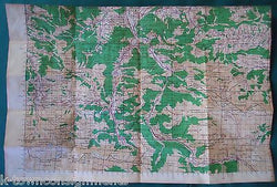 AMERICAN RED CROSS VINTAGE WWII GRAPHIC CITY MAP OF PARIS FOLD-OUT POCKET MAP - K-townConsignments