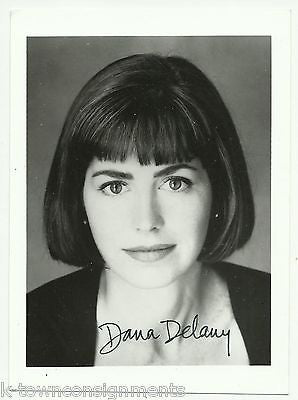 DANA DELANY TV & TOMBSTONE MOVIE ACTRESS EARLY AUTOGRAPH SIGNED PROMO PHOTO - K-townConsignments