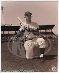 EARL AVERILL PHILLIES MLB BASEBALL PLAYER VINTAGE AUTOGRAPH SIGNED PHOTO - K-townConsignments
