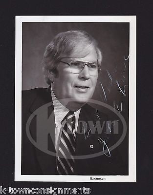 JOHN LAWE NY SUBWAY TRANSPORT WORKERS UNION PRESIDENT AUTOGRAPH SIGNED PHOTO - K-townConsignments