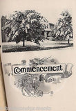 BLISS ELECTRICAL SCHOOL WASHINGTON DC ANTIQUE GRADUATION PROGRAM BOOKLET 1937 - K-townConsignments