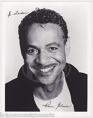 RON GLASS BARNEY MILLER & FIREFLY TV SHOW ACTOR AUTOGRAPH SIGNED PROMO PHOTO - K-townConsignments