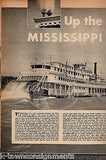 ANDREA KING PIN-UP MANILA RAILROAD WARTIME MISSISSIPPI RIVER YANK MAGAZINE 1945 - K-townConsignments