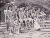 SAN FERNANDO PHILIPPINES BAND SWIMSUITS COCK FIGHT WWII VINTAGE SNAPSHOT PHOTOS - K-townConsignments