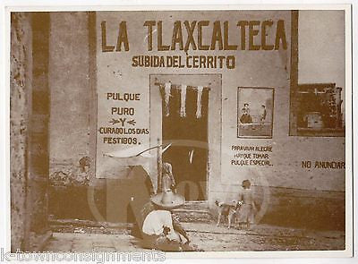 MEXICAN REVOLUTION LA TLAXCALTECA SCENE PHOTO REPRODUCTION FROM LOST NEGATIVE - K-townConsignments