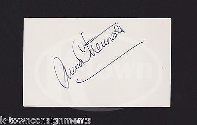 ANNA CHENNAULT ASIAN AMERICAN POLITICIAN WIFE OF WWII HERO AUTOGRAPH SIGNATURE - K-townConsignments