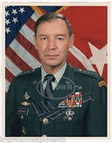 FREDERICK WOERNER ARMY 4 STAR GENERAL AUTOGRAPH SIGNED MILITARY PHOTO - K-townConsignments