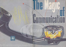 MAGIC OF COMMUNICATION VINTAGE BELL TELEPHONE COMPANY GRAPHIC ADVERTISING BOOK - K-townConsignments