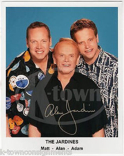 AL JARDINE BEACH BOYS FOUNDER MUSIC SINGER VINTAGE AUTOGRAPH SIGNED PHOTO - K-townConsignments