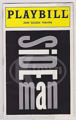 EDIE FALCO & SIDE MAN CAST AUTOGRAPH SIGNED JOHN GOLDEN THEATRE NY PLAYBILL - K-townConsignments