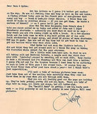 JACK BRYAN WWII MILITARY & NEWSPAPER ARTIST VINTAGE AUTOGRAPH SIGNED LETTER 1943 - K-townConsignments