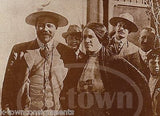 PONCHO VILLA WITH WOMAN MEXICAN REVOLUTION PHOTO REPRODUCTION FROM LOST NEGATIVE - K-townConsignments