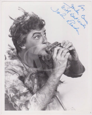 JOHN REARDON OPERA BARITONE MR ROGERS NEIGHBORHOOD ACTOR AUTOGRAPH SIGNED PHOTO - K-townConsignments
