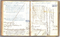 New Hampshire Doctors & Civil War Country General Store Medical Ledger Book 1840 - K-townConsignments