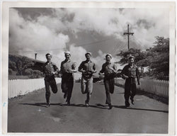 WWII SAILOR BOYS ATOMIC BOMB CREW OPERATION CROSSROADS LARGE 11x14 PHOTOGRAPH - K-townConsignments