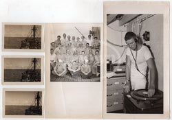 ATOMIC BOMB OPERATION CROSSROADS ORIGINAL WWII BIKINI ATOLL MILITARY PHOTOS LOT - K-townConsignments