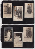 WWI SOLDIERS IN UNIFORM ON HORSEBACK ANTIQUE MILITARY HOMEFRONT PHOTO ALBUM - K-townConsignments