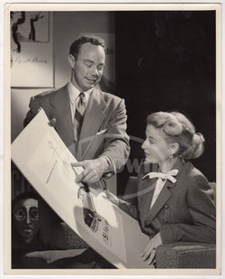 JIM JORDON LOS ANGELES ADVERTISING DESIGN SCHOOL VINTAGE NEWS PRESS PHOTO 1951 - K-townConsignments