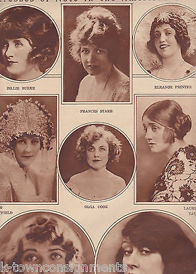 BILLIE BURKE WIZARD OF OZ EARLY MOVIE ACTRESSES VINTAGE 1920s PHOTO POSTER PRINT - K-townConsignments