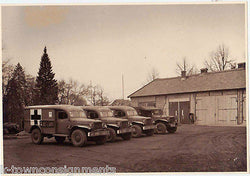 WWII BERLIN RED CROSS MILITARY MEDICAL 279th STATION HOSPITAL & STAFF PHOTOS - K-townConsignments