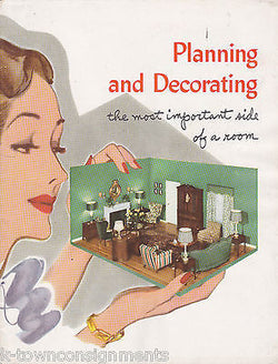 PLANNING & DECORATING YOUR LIVING ROOM VINTAGE HOME DECOR STYLES AD BOOK - K-townConsignments