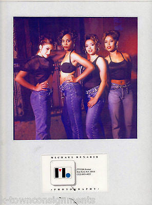 BLACK FEMALE R&B GROUP SINGERS VINTAGE 80-90s MICHAEL BENABIB MUSIC PROMO PHOTOS - K-townConsignments