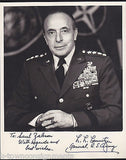 MILITARY GENERAL LYMAN LEMNITZER NATO ALLIED COMMANDER AUTOGRAPH SIGNED PHOTO - K-townConsignments