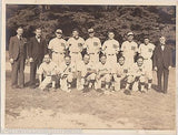 EARLY AMERICAN BASEBALL SUBURBAN LEAGUE CHAMPIONS ANTIQUE TEAM GROUP PHOTO 1937 - K-townConsignments