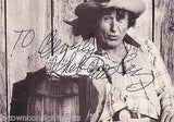SHEB WOOLEY RAWHIDE ACTOR PURPLE PEOPLE EATER MUSIC AUTOGRAPH SIGNED PROMO PHOTO - K-townConsignments