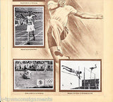EARL MEADOWS USA GERMAN TRACK & FIELD OLYMPICS 1936 PHOTO CARDS POSTER PRINT - K-townConsignments