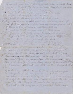 SOUTHERN WAGON HAND-WRITTEN CONFEDERATE CIVIL WAR POEM - K-townConsignments