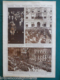 WWI VICTORY WORLD NEWS CELEBRATIONS St. PETERS VINTAGE 1920s PHOTO POSTER PRINTS - K-townConsignments